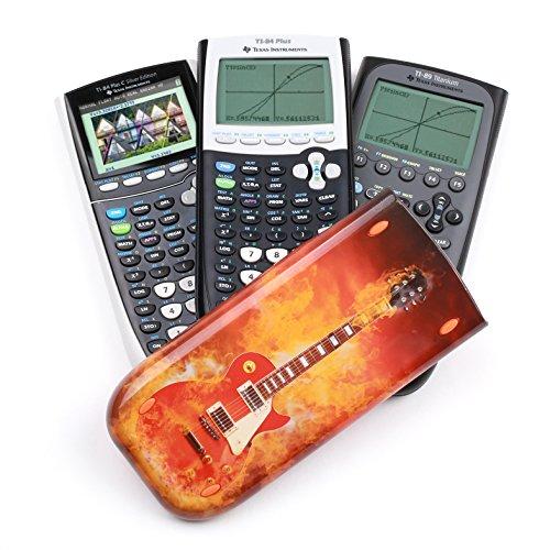 Guerrilla Hard Slide Case-Cover for TI-84 Plus, TI 84-Plus C Silver Edition, TI-89 Titanium Graphing Calculator, Guitar Photo #7