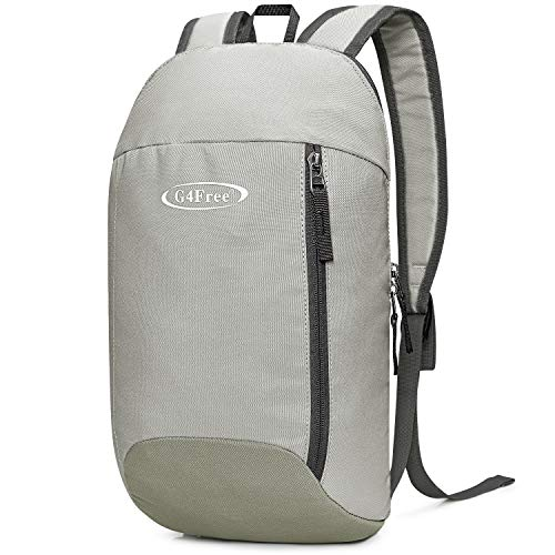 G4Free Mini Daypack Tagesrucksack Kleiner Rucksack Mehrzweck 10L Unsiex Wanderrucksack Buchrucksack Für Erwachsene Kinder