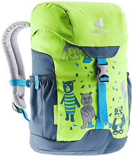 deuter Unisex Jugend Schmusebär Kinderrucksack, kiwi-arctic, 8 L