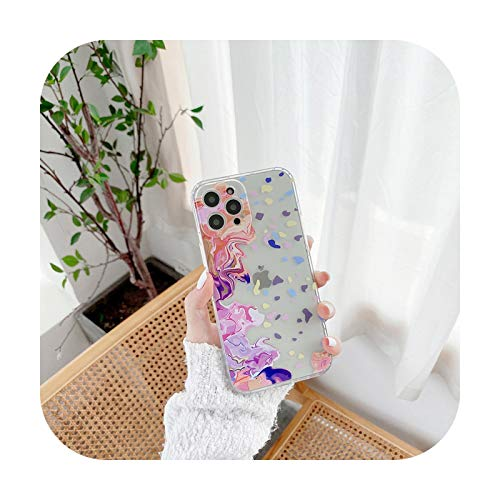 Moda acuarela pintura teléfono caso para Samsung Galaxy S20 S10 S21 Plus Uitra S20 FE S9 cubierta transparente a prueba de golpes Coque Funda-ZUO-Samsung S20 FE