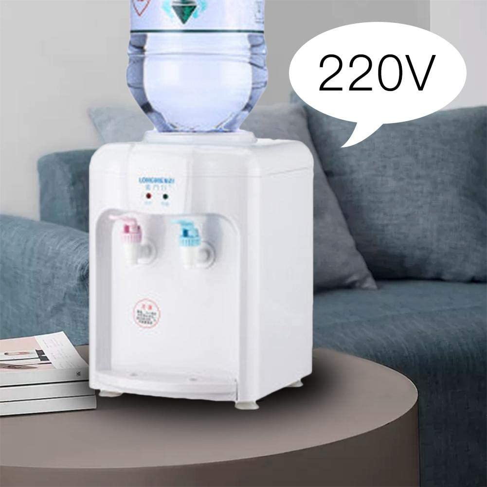 dispenser Heating Boiler StageOnline 220V Mini Portable Electric Hot And Cold Drink Machine Desktop Water Dispenser Bracket Water Beverage Tool