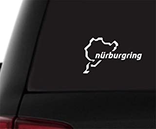 Pegatina Impermeable Universal Fit for Cars SUVs Truckss Koojawind/ Racing Track Nurburgring Sticker Divertido Vinilo para Coche Illest Sign Vinyl 20 x 12cm Motorcycles