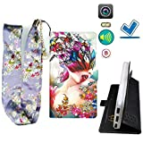 Lovewlb Case for Azumi A4+Plus Cover Flip PU Leather +