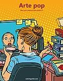 Arte pop libro para colorear para adultos 2