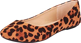 Cambridge Select Women's Classic Slip-On Round Toe Ballet Flat