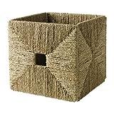 IKEA KNIPSA - Basket, pastos marinos - 32x33x32 cm