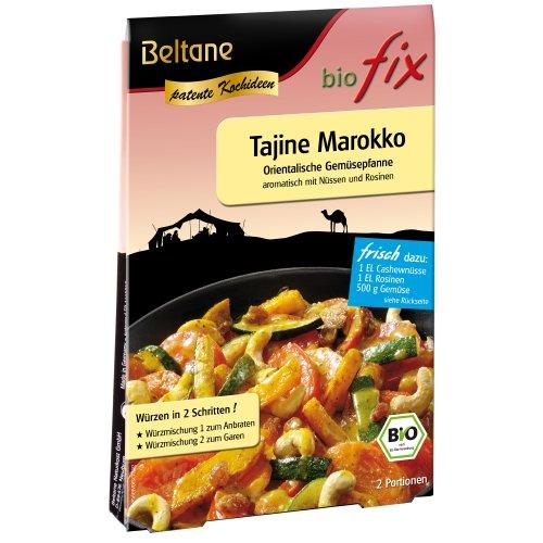 Beltane biofix Tajine Marokko - 2 Portionen, 2er Pack (2 x 23,6 g Packung) - Bio