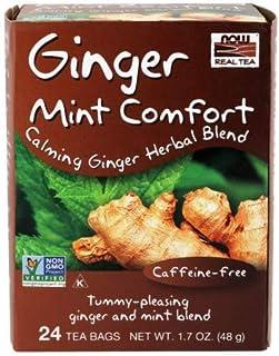 NOW Foods - Queeze EaseTM Tea - 24 Tea Bags (Pack of 2)
