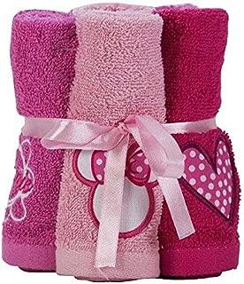 Disney Minnie Mouse Washcloth Bundle