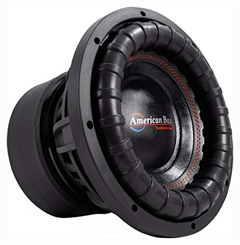 American Bass XFL-1044 2000w 10' Competition Car Subwoofer 3' Voice...