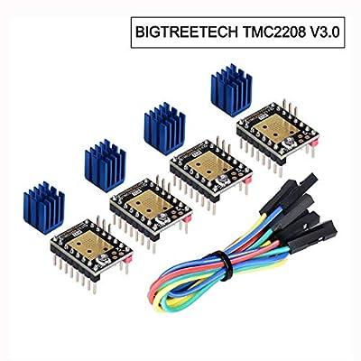 BIGTREETECH TMC2208 V3.0 Stepper Motor Driver UART Mode 3D Printer Parts (4 PCS)