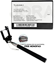Replacement TLi020A1 Battery Alcatel One Touch POP S3 OT-5050 MONOPAD - 2 Year Limited Warranty