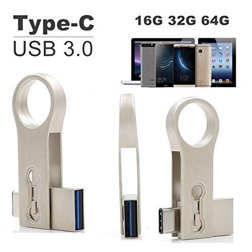 SETAYO 32GB USB-C auf USB 3.0 Flash Drive OTG Flash Laufwerk U Speicherstick für MacBook Pro, Samsung Chromebook Plus, Nexus 6P 5X, Google Pixel und mehr