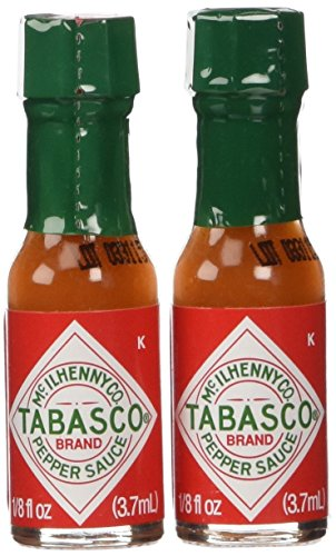 TABASCO Original Red Miniatures 1/8 oz (2 Pack)