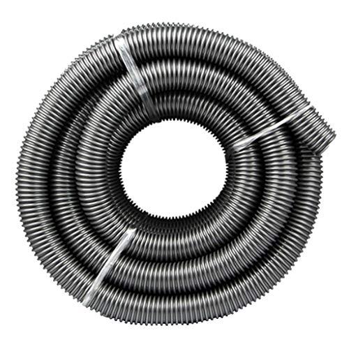 Fenteer Manguera Flexible De Plástico para Aspiradora De 3 M / 2 / M, Manguera De Conexión para Aspiradora - Negro, A- 3m Gris 40mm
