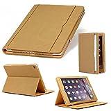 Urcover Custodia Retro iPad Air 2 9,7 Pollici, Smart Case Auto Sleep Funzione Stand [Slot ...
