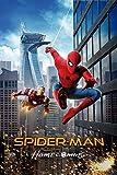 Póster de la película Spider Man Homecoming 4 – Mejor impresión artística de calidad para decoración de pared, Poster A4