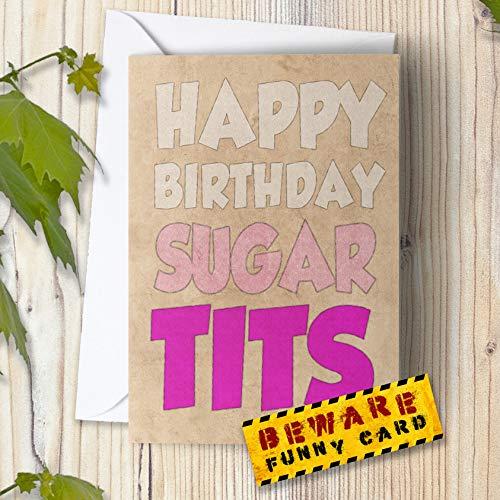 Lustige freche Geburtstagskarte für Freundin, Frau Bestie