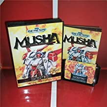 Value-Smart-Toys - MD games card - MUSHA US Cover with Box and Manual For Sega Megadrive Genesis Video Game Console 16 bit MD card