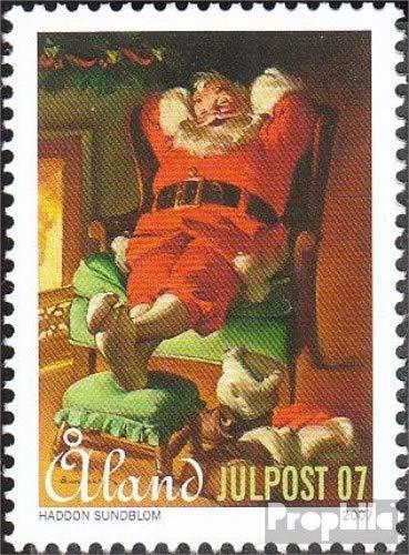 Prophila Collection Finnland - Aland 288 (kompl.Ausg.) 2007 Weihnachten - Weihnachtsmann (Briefmarken für Sammler) Weihnachten