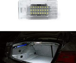 GemPro LED Luggage Compartment Light Trunk Cargo Area Lamp for BMW E39 E38 E65 E82 E90 E91 E92 E93 X5, Error Free 24 LED Interior Car Lamp Bulb