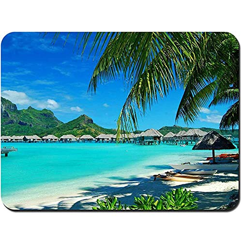 Muis Pad Bore Bore Wit Zand Strand NonSlip Rubber Mousepad Gaming Mouse Pad