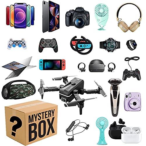 YuanHjyx più Popolare New Lucky Mystery Box 100% Sorpresa c'è Una possibilità di Aprire: Telefono Cellulare, Fotocamere, droni, Gamepad, Regalo Fortunato