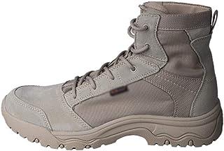 GJHYJK Bottes Militaires Combat Hommes Bottes Randonnée Hautes dans Le Désert Sports Plein Air Chaussures D'entraînement A...