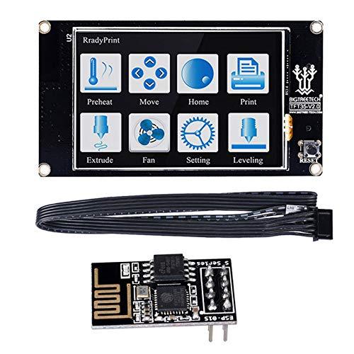 """PoPprint - Smart controller TFT35 V2.0 con display + modulo WiFi, TFT da 3.5"""", touch screen, componente da stampante 3D per scheda di controllo SKR V1.3 PRO MINI E3"""