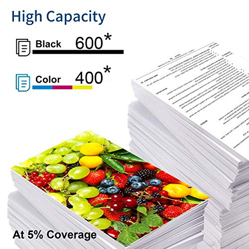 InkWorld Remanufactured 240XL 241XL Ink Cartridge Replacement for Canon PG-240 CL-241 XL to Use with Pixma TS5120 MG3620 MG3520 MX472 MG3220 MX452 MX532 MX512 MG2120 MX432 Printer (Black Color) 2-Pack Photo #3