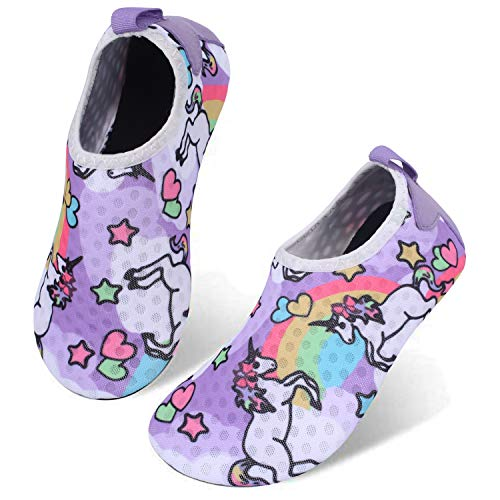 Centipede Demon Kids Water Shoes Girls Boys Outdoor Quick Dry Barefoot Aqua Socks for Sport Beach Swim Surf 1-2 Little Kid