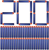 Flywind 200PCS Mousse Fléchette Recharge Balle de Nerf Fléchette pour Pistolet Elite Jouet Darts Refill Bullet for Toy Gun Flechette de Nerf Elite Compatible avec Le Jouet Gun Accessoire Flechette