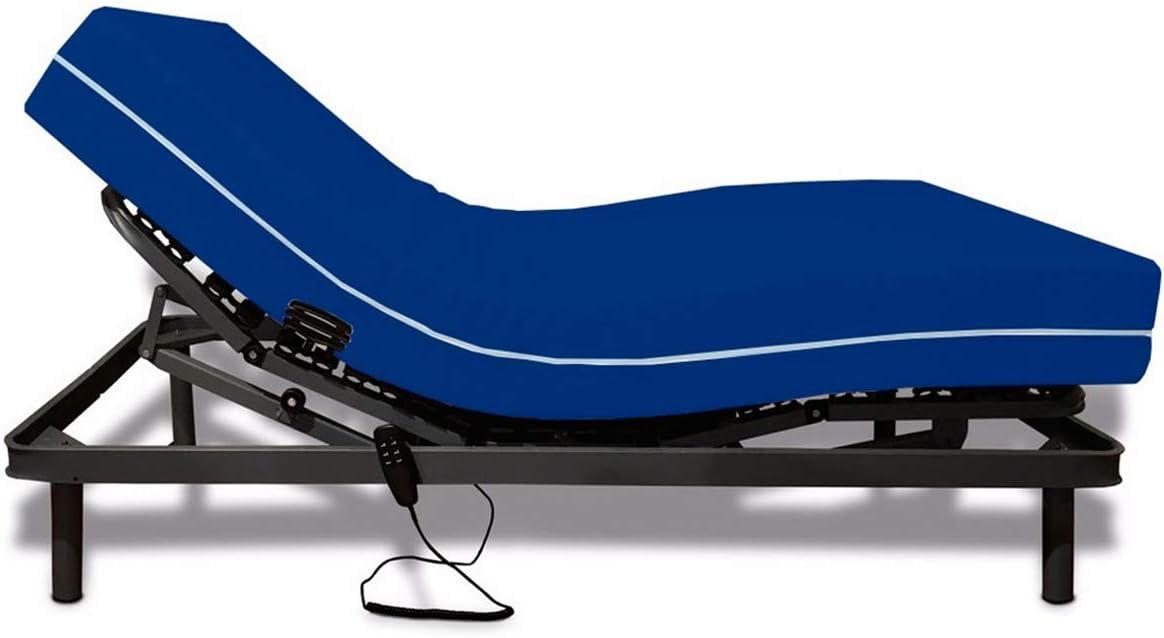 Duermete Cama Eléctrica Articulada Reforzada 5 Planos + ...