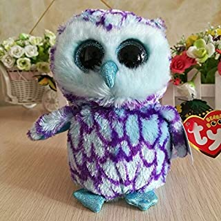 ILUTOY Ty Owliver Owl 1Pc 15Cm Oscar Owl Owlette Yago Pinky Soft Toys Moon Owl Kids Toys Enchanted Owl Holiday Must Haves Gift Bags Girl S Favourite Superhero Unboxing Toys