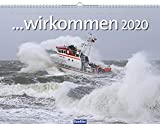 ...wir kommen 2020: Der große Wandkalender über die Seenotretter der Deutschen Gesellschaft zur Rettung Schiffbrüchiger (DGzRS), fotografiert von Peter Neumann