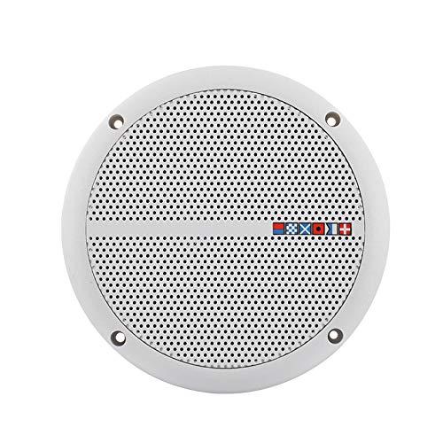 Gfhrisyty 2 x 60 W impermeable altavoz de techo Syatems 3D Stereo Flush Mount Home Theater Loundspeaker Amplificador en la pared/barco/coche/marina