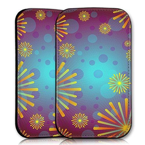 wicostar Sleeve Style Handy Tasche Hülle Schutz Hülle Schale Motiv Etui für Wiko Rainbow Jam - Sleeve UBS18 Design11