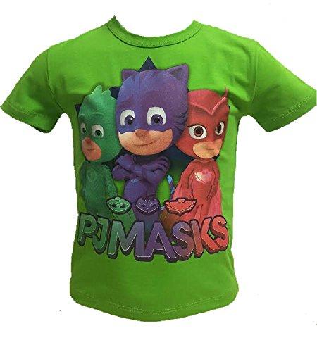 PJ Masks t-Shirt Mezza Manica Cotone Super pigiamini Art PL28006