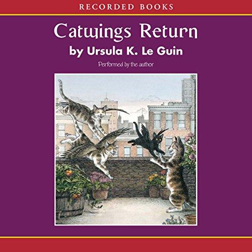Catwings Return audiobook cover art