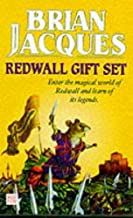 Redwall Gift Set: Martin the Warrior, Mossflower and Outcast of Redwall (Tales of Redwall) by Brian Jacques (1999-10-07)