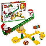 LEGO Super Mario Piranha Plant Power Slide Expansion Set 71365; Building Kit for Kids to Combine with The Super Mario Adventures with Mario Starter Course (71360) Playset (217 Pieces)