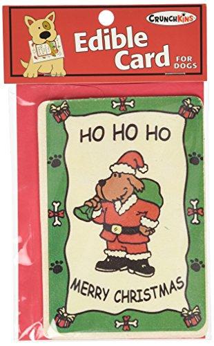 Crunchkins Crunch Comestible Carte, Ho, Ho, Ho, Merry Christmas