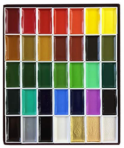 35 color auspicious angle face color luxury binding (japan import)