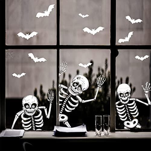 AGUDOU Pegatinas de Ventana Halloween...