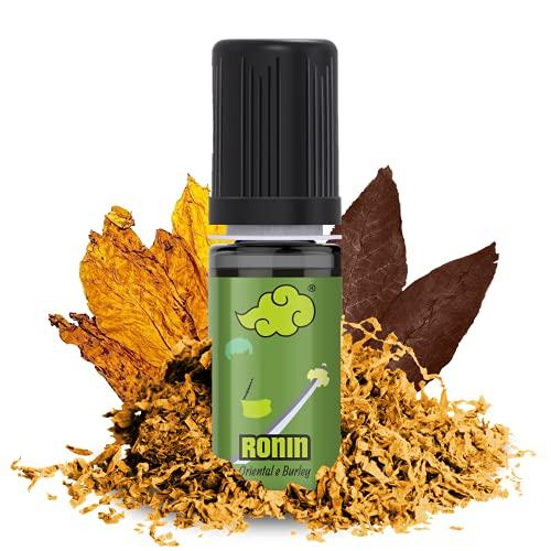 NINDO Aroma Concentrato RONIN 10ml   Un gusto delicato nato dalla miscela di Oriental e Burley!   100% Made in Italy   Aroma Puro da Diluire (Confezione Singola)