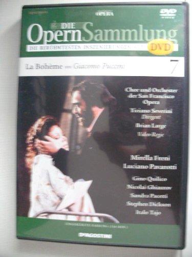 Die Opernsammlung - Die berühmtesten Inszenierungen auf DVD ~ La Bohéme von Giacomo Puccini 7 - ungekürzte Fassung 116 Min. (Arthaus Musik)