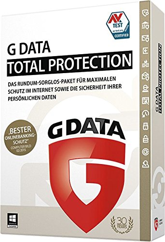 G Data Total Protection 2015 | 3 PC | 1 Jahr