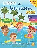 libro de vacaciones: 4/5 años | para consolidar los logros del segundo ciclo | con diploma | Para un buen comienzo del año escolar