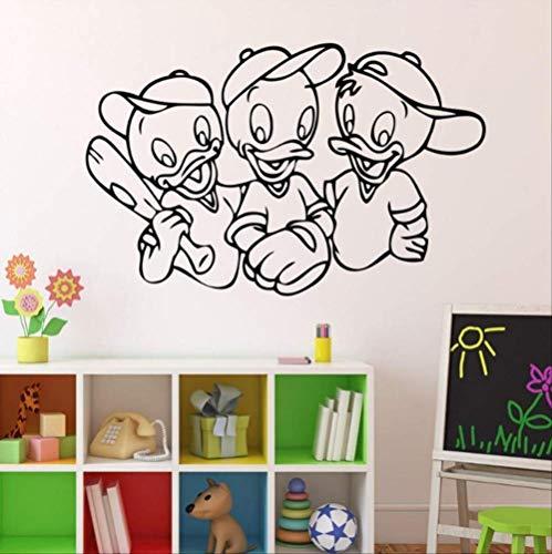 Wandaufkleber Donald Duck Schlafzimmer Wohnzimmer Home Home Diy Aufkleber Pvc Vinyl Poster Wanddekoration 58X82Cm