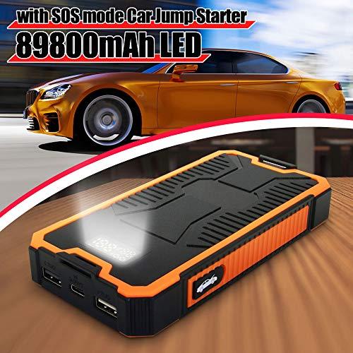 Alimentatore Portatile Per Avviatori Per Salto Auto 89800mAh Batteria Booster USB Power Bank 9V 2A Caricabatterie Rapido Doppia Uscita USB Con Display